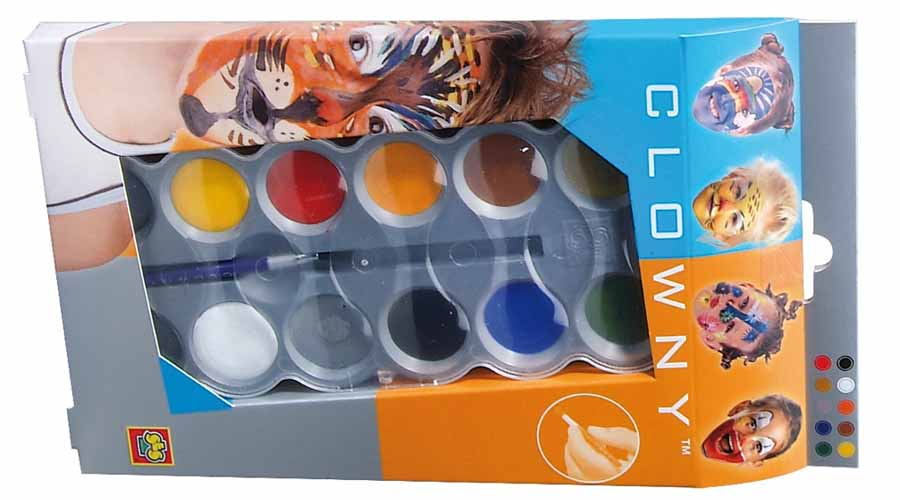The main qualities of excellent face paint set